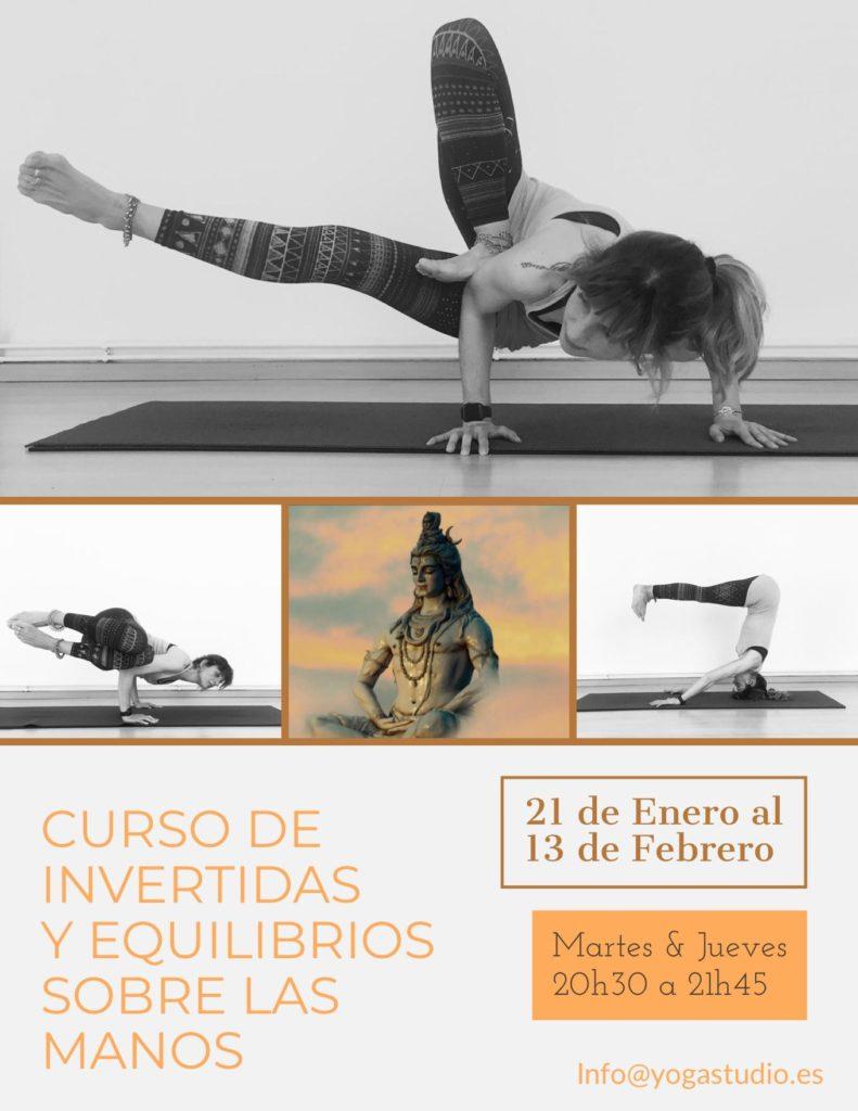 Yoga Invertidas y equilibrios